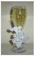 Wedding Champagne Flower on Stem