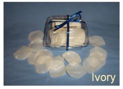 Ivory Soap Petals