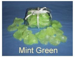 Mint Green Soap Petals