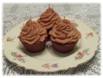 Chocolate Cupcake 5 oz