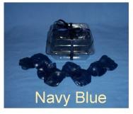 Navy Blue Soap Petals