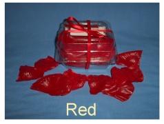 Red Soap Petals